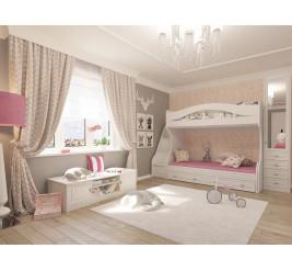 Детская мебель Итальянский мотив (фабрика «Гармония»)
