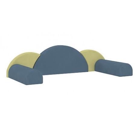 Декоративные подушки для кровати 51.101.02. Комплект: 3 подушки, 2 валика.