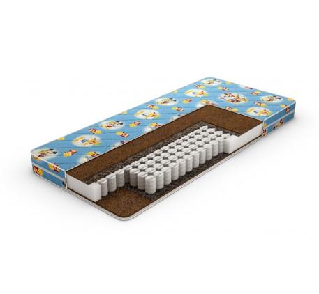Матрас Kinder Dream TFK, независимый пружинный блок. Наполнение: латексированный кокос. Чехол: стега..