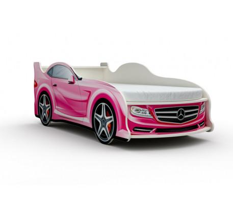 Кровать-машина Мерседес (Mercedes) с матрасом, спальное место кровати 1800*800 мм.