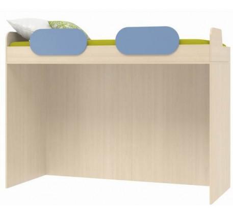 Кровать-чердак верхняя Дельта 18.02, спальное место кровати 2000*800 мм.