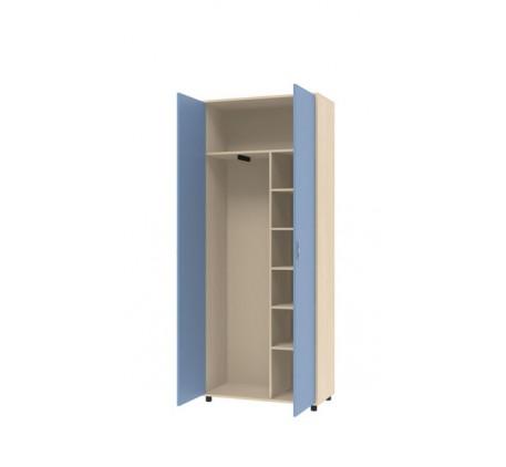 Двухдверный шкаф для одежды Дельта 2