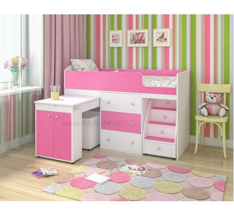 Кровать Малыш, спальное место детской кровати-чердака 160х70 см