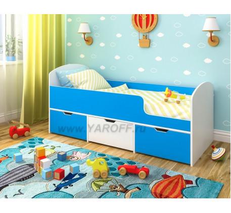Кровать Малыш Мини, спальное место детской кровати-чердака 160х70 см