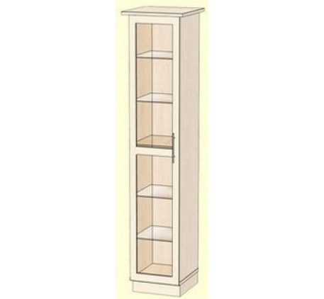 Шкаф 400 для посуды (внутреннее наполнение: стеклополки)
