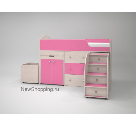 Кровать чердак Малыш (детская «Ярофф Мебель»)