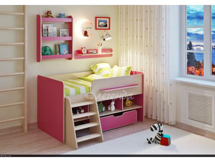 Кровать-чердак детская Легенда-6
