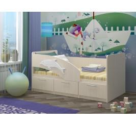 Детская кровать Дельфин-5 (1,6 м)