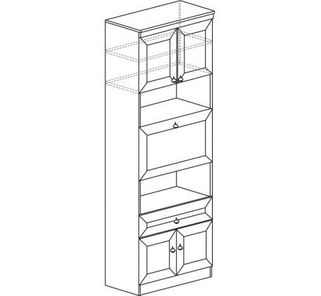 Шкаф барный Инна 605