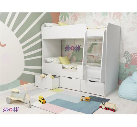 Двухъярусная кровать  Малыш Двойняшка