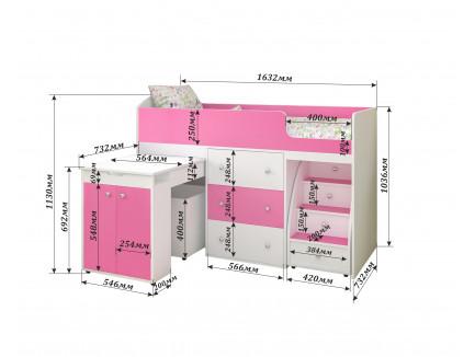 Кровать Малыш «Ярофф», спальное место 160х70 см
