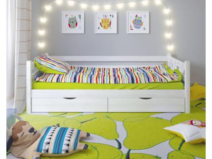 Двухъярусная кровать Сонечка из массива сосны