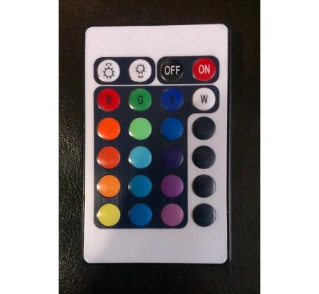 Разноцветная подсветка днища на пульте управления