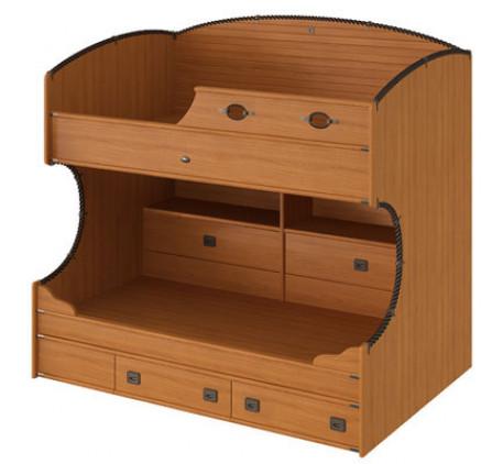 Двухъярусная кровать Флинт левая F 1932 L, спальные места 190х90 см