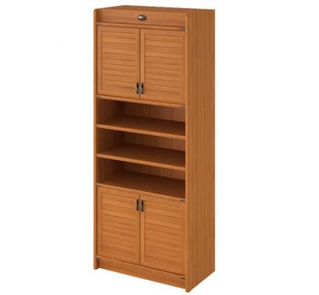 Шкаф для книг 4-х дверный Флинт F 2214