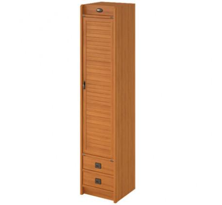 Шкаф 1 дверный с 2 ящиками Флинт F 2251