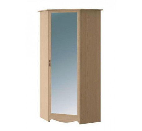 Шкаф угловой с зеркалом Николь N 2218 М