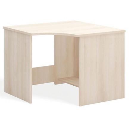 Стол угловой с полкой под клавиатуру
