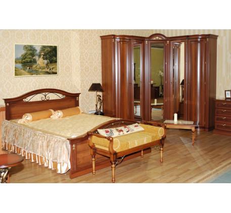 Спальня Мальта. Композиция №3: 2788, 2782, 2781, 2858 (2 шт.), 2861 левый, 2861 правый, 2856, 9499 т..