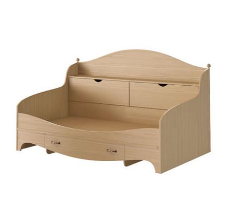 Кровать с 1 ящиком и арконом Николь N 1922 А, спальное место 190х90 см