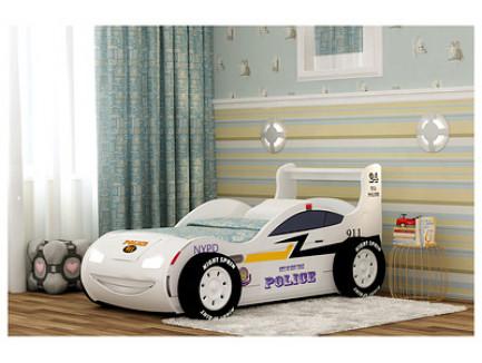 Кровать-машина Полиция, полицейская кровать-машинка Шериф