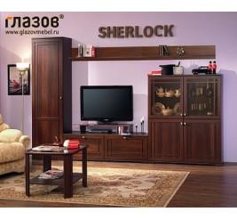 Стенка Шерлок (гостиная Sherlock)