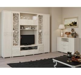 Мебель Ирис, гостиная стенка Ирис (официальный сайт мебельной фабрики «Арника»)