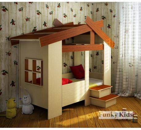 Детская кровать-домик Фанки Кидз 13/64, спальное место 170*80 см