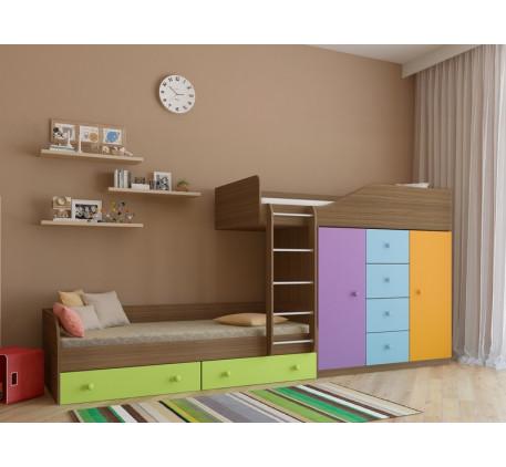 Двухъярусная кровать Астра-6, спальные места 190х80 см