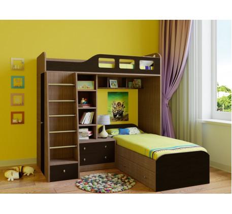 Двухъярусная кровать для подростков Астра-4, спальные места 195х80 см