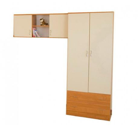 Детская мебель Соня-3 (шкаф Соня+навесная полка)