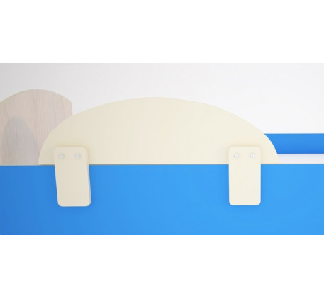 Бортик дополнительный для кроватей Малыш, съемный