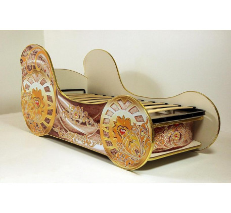 Кровать-карета для девочки Мини (Vivera)