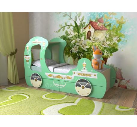 Кровать Карета для девочки
