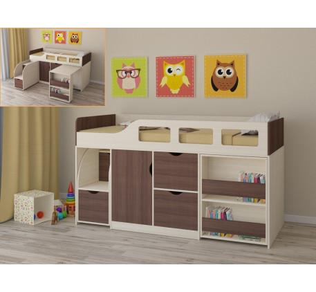 Кровать-чердак Астра-8, спальное место 190х80 см