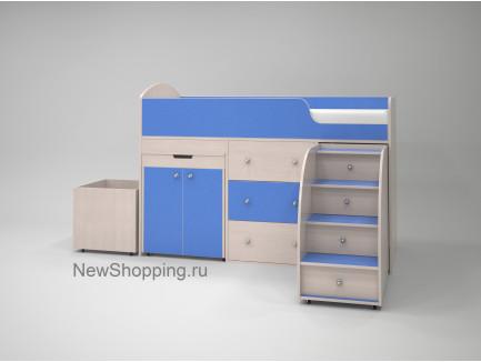 Кровать-чердак Малыш 180, спальное место кровати 180х80 см