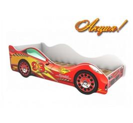 Кровать-машина Турбо (детская кровать Turbo)