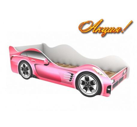 Кровать-машина для детей Феррари (Ferrari), спальное место 1600*700 мм.