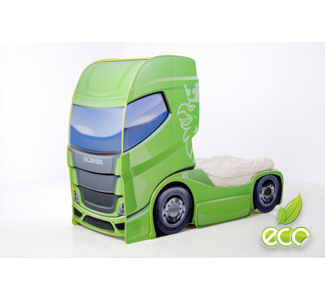 Кровать-тягач Скания-1 (Мебелев), спальное место кровати-грузовика 180х90 см