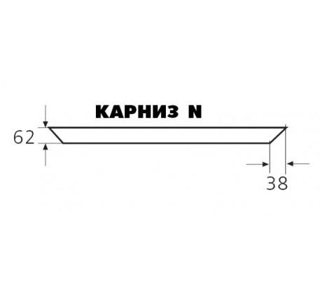 Карниз Николь (1 погонный метр)