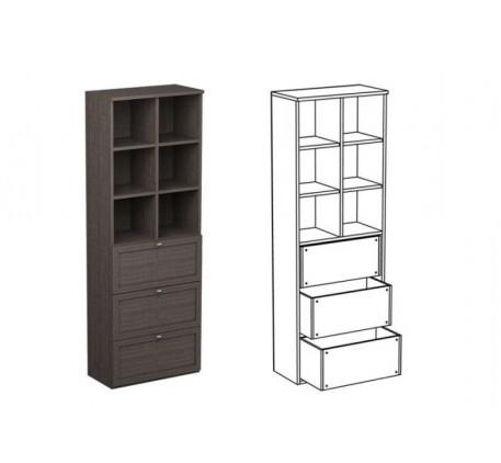 Шкаф двойной НД2 + фасад НФ11д
