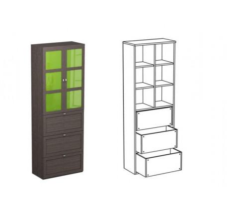 Шкаф двойной НД2 + фасад НФ11д + НФ10ц
