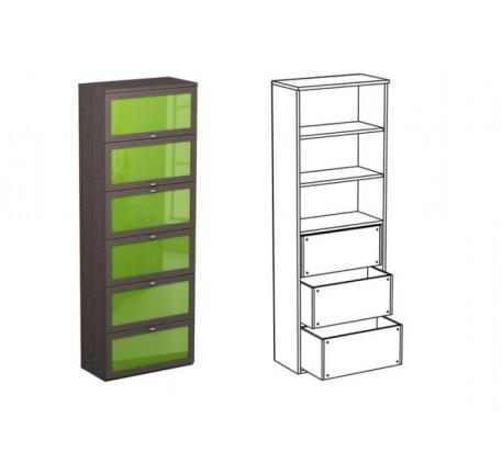 Шкаф двойной НД3 + фасад НФ11ц + НФ12ц