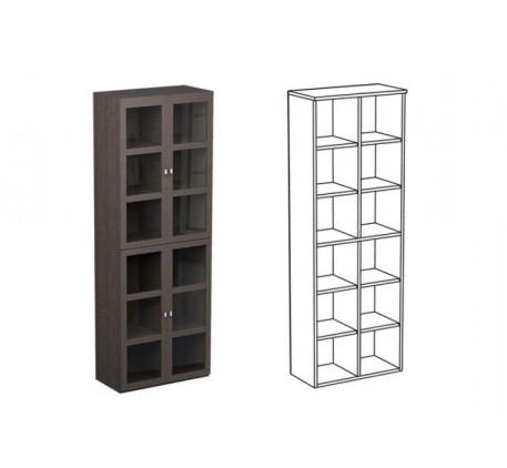 Шкаф двойной НД4 + фасад НФ10п(2)
