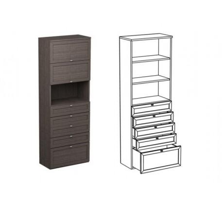 Шкаф двойной НД6 + фасад НФ14Д