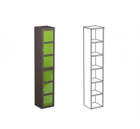 Шкаф одинарный НО1 + фасад НФ10Ц