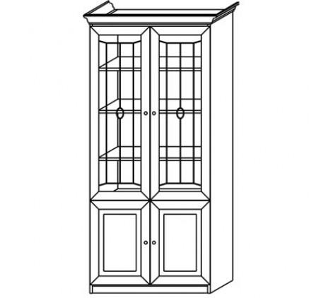 Шкаф 2772 для книг