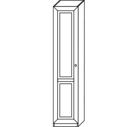 Шкаф для одежды 2564 (1 дверь), левый или правый