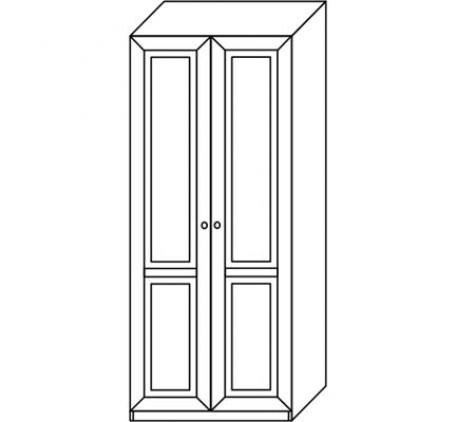 Шкаф 2917 для одежды (2 двери)