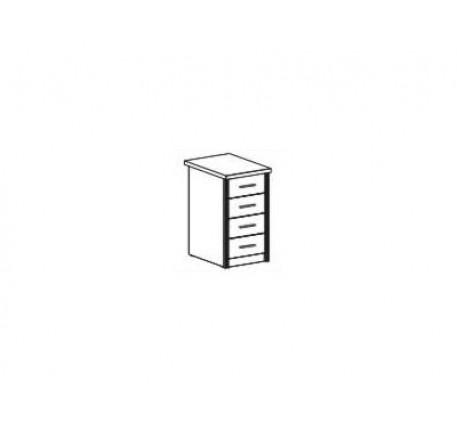 Тумба с ящиками для стола